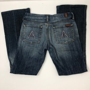 7 for All mankind A pocket Jean size 27